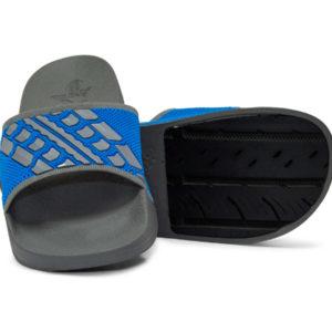 Slide Sandals Men's Grey Gray Blue