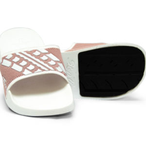 Slide Sandals Women's Blush Pink White