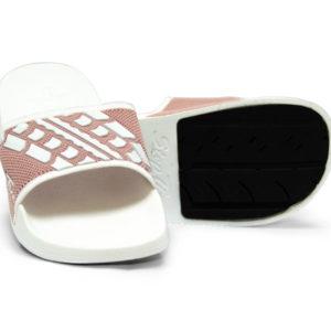 Slide Sandals Women's Blush Pink White